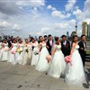 'Rose Wedding' on the Bund