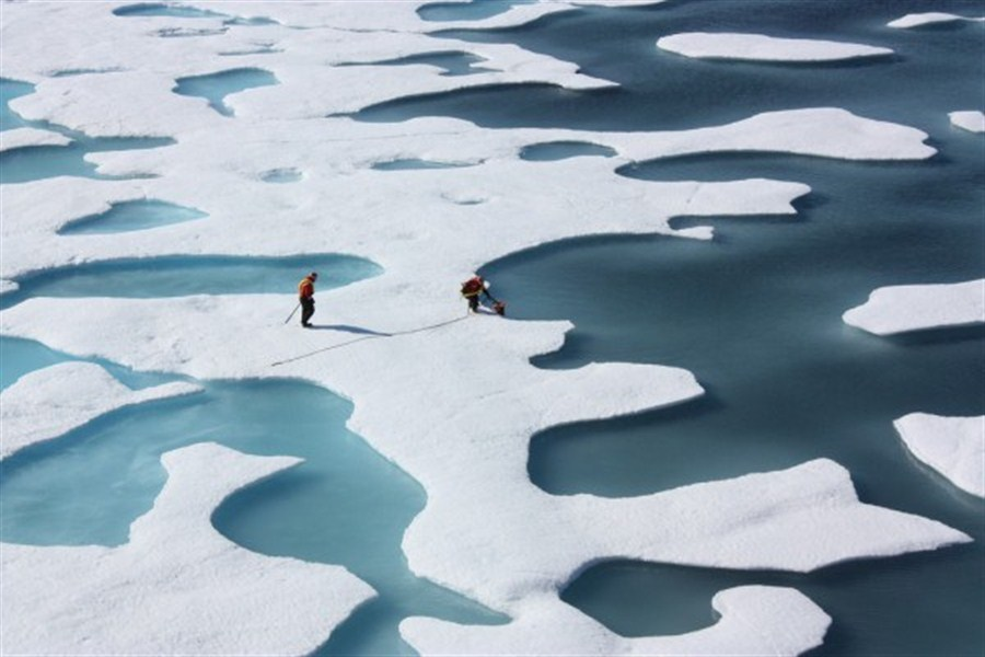 Scientists have front row seat to Arctic warming