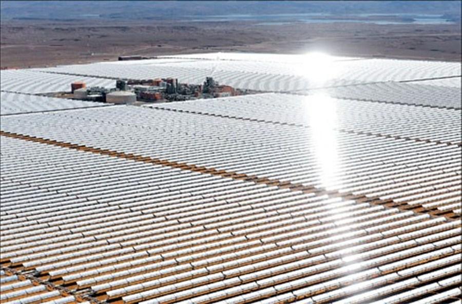 Shining example of green energy