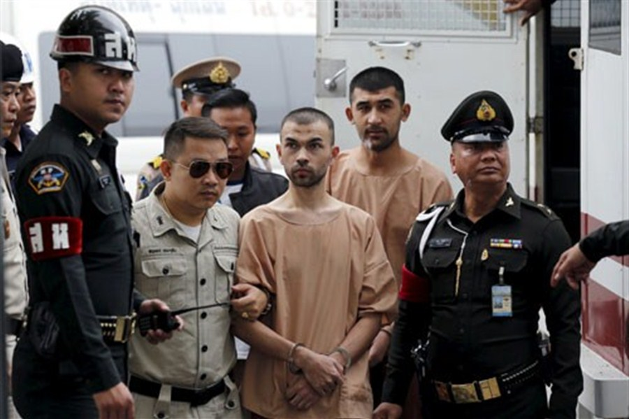 Chinese suspects in Bangkok bomb case deny all charges