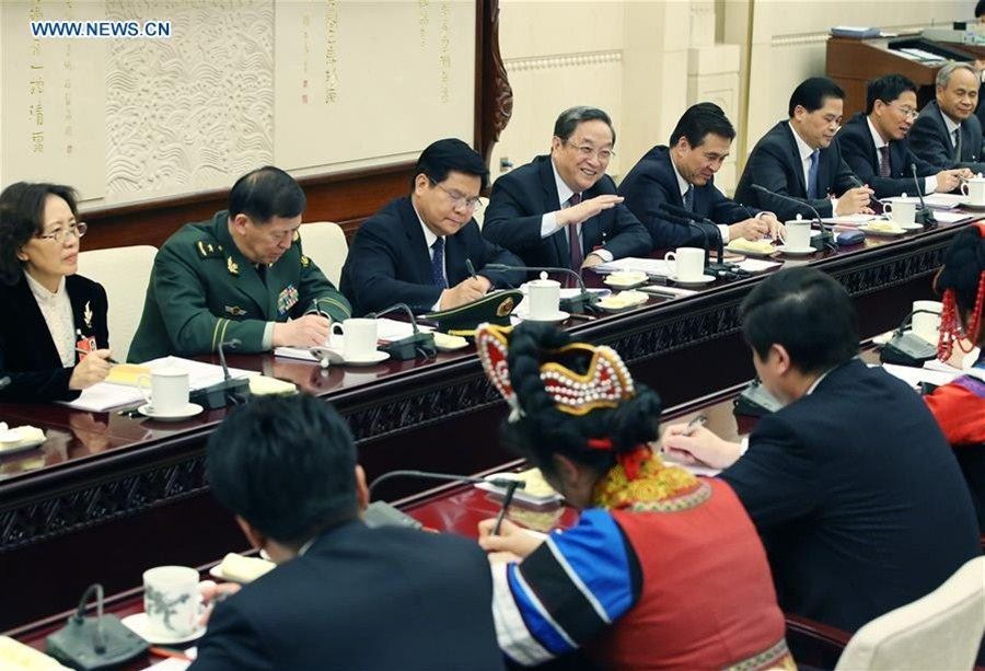 Chinese leaders underscore ethnic unity, poverty relief