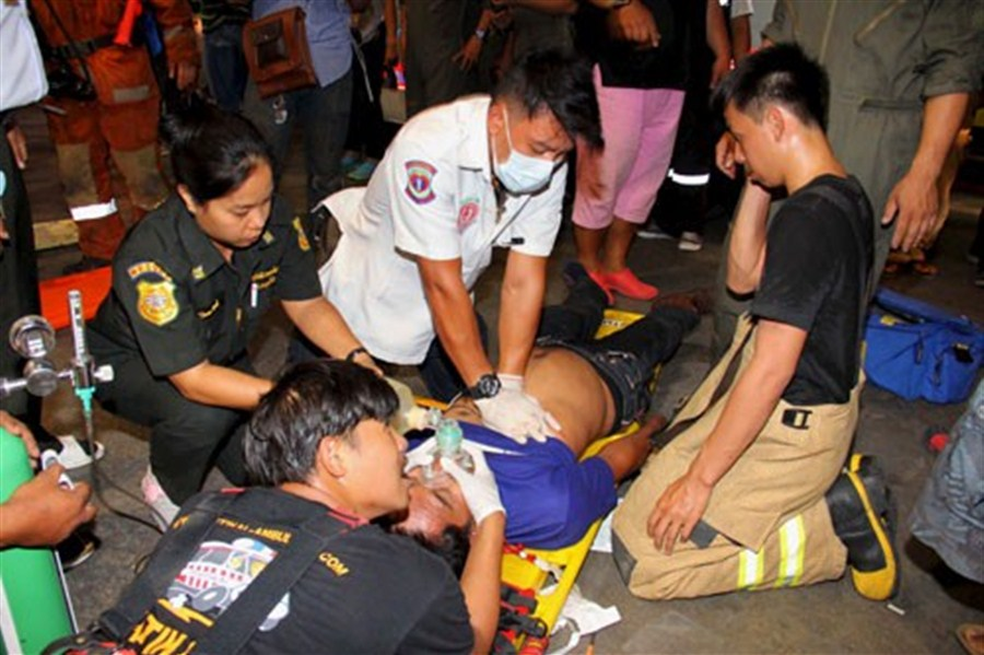 8 killed in Bangkok bank chemical leak