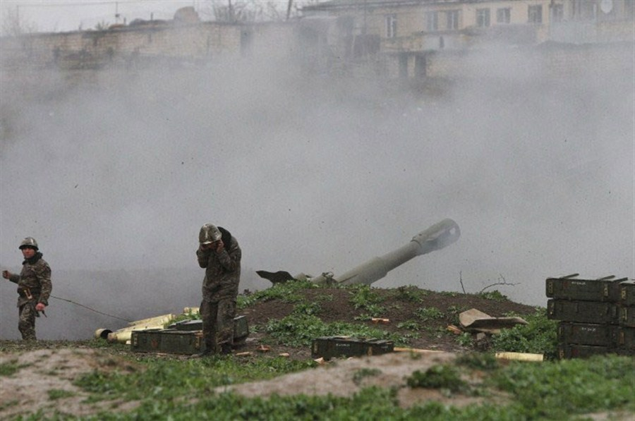 Azerbaijan says it will halt fight with separatists in conflict region