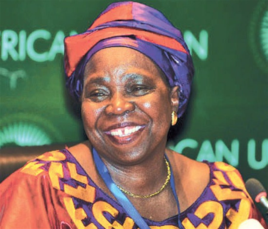 Zuma's ex-wife touted as next S. African leader