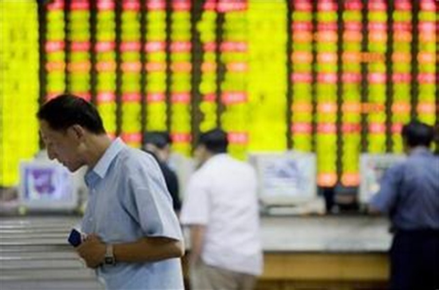 Shares fall on profit-taking and weak imports