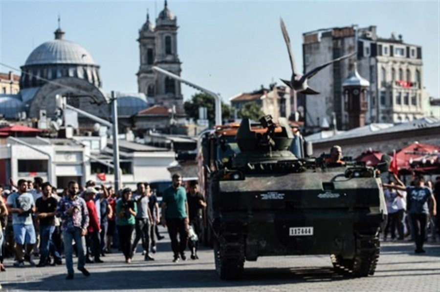 Army commanders detained after Turkey foils coup attempt