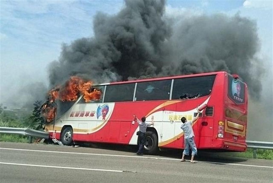 Tour buses ordered off the road after horror crash