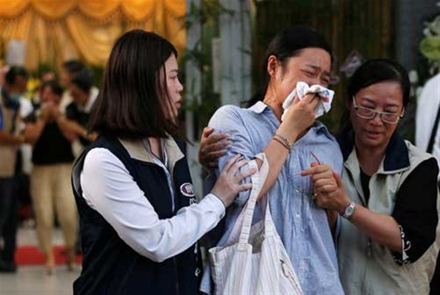 Bus crash relatives in tears as they mourn their loved ones