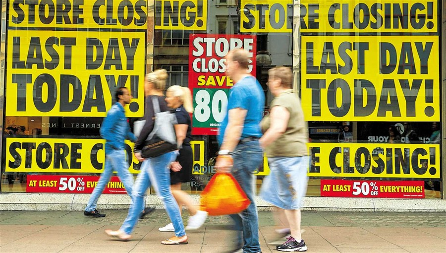 UK retailer goes out of business