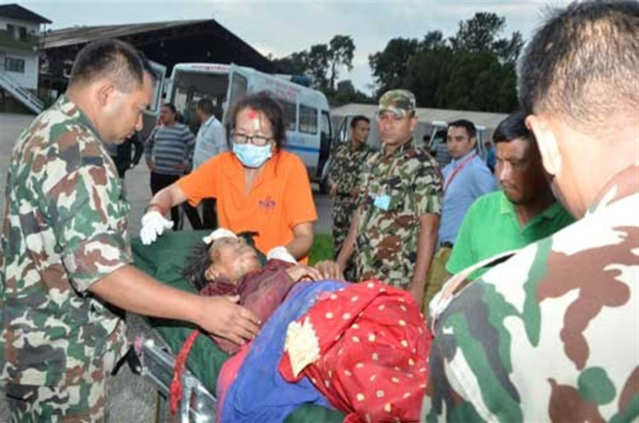Bus crash in Nepal claims 33