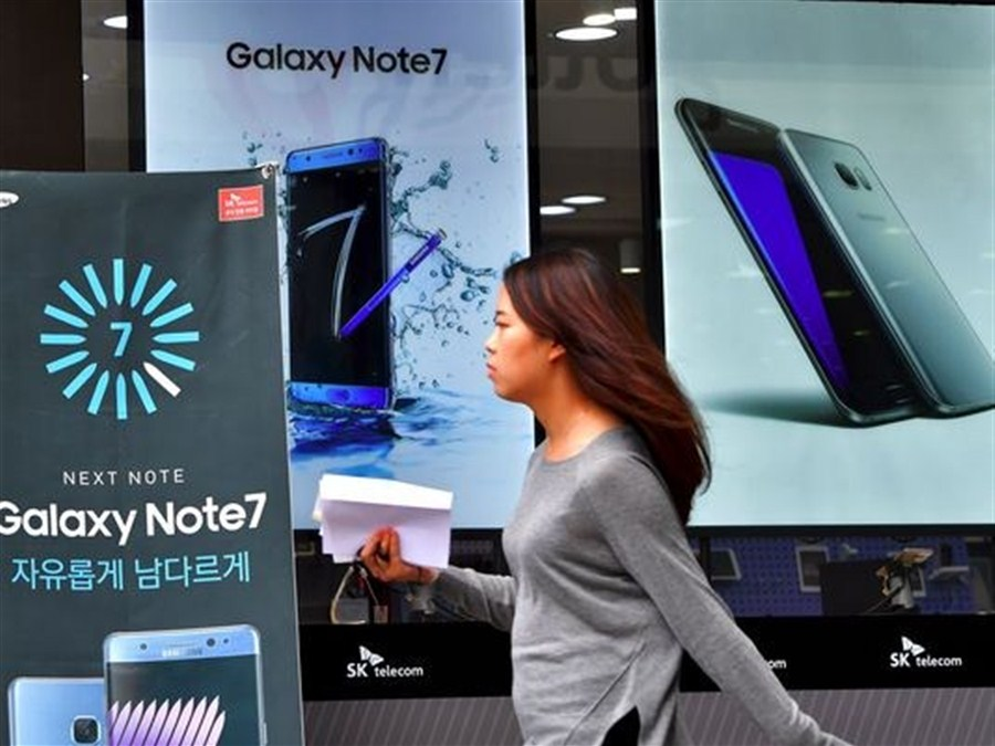Some Chinese airlines ban use of Samsung Galaxy Note 7 on flights for battery safety concerns