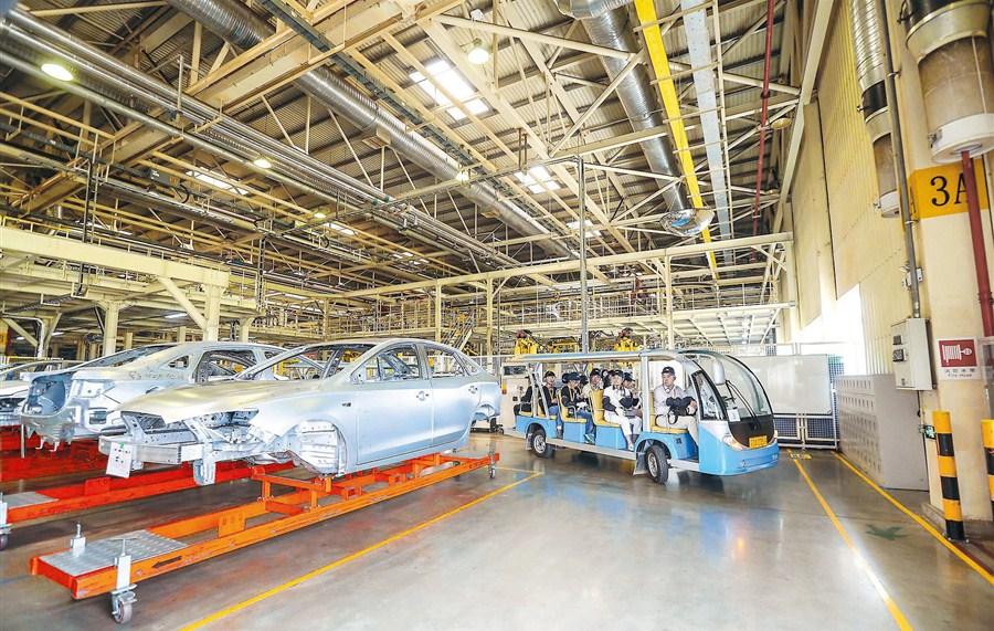 Seeing is believing at SAIC-General Motors plant