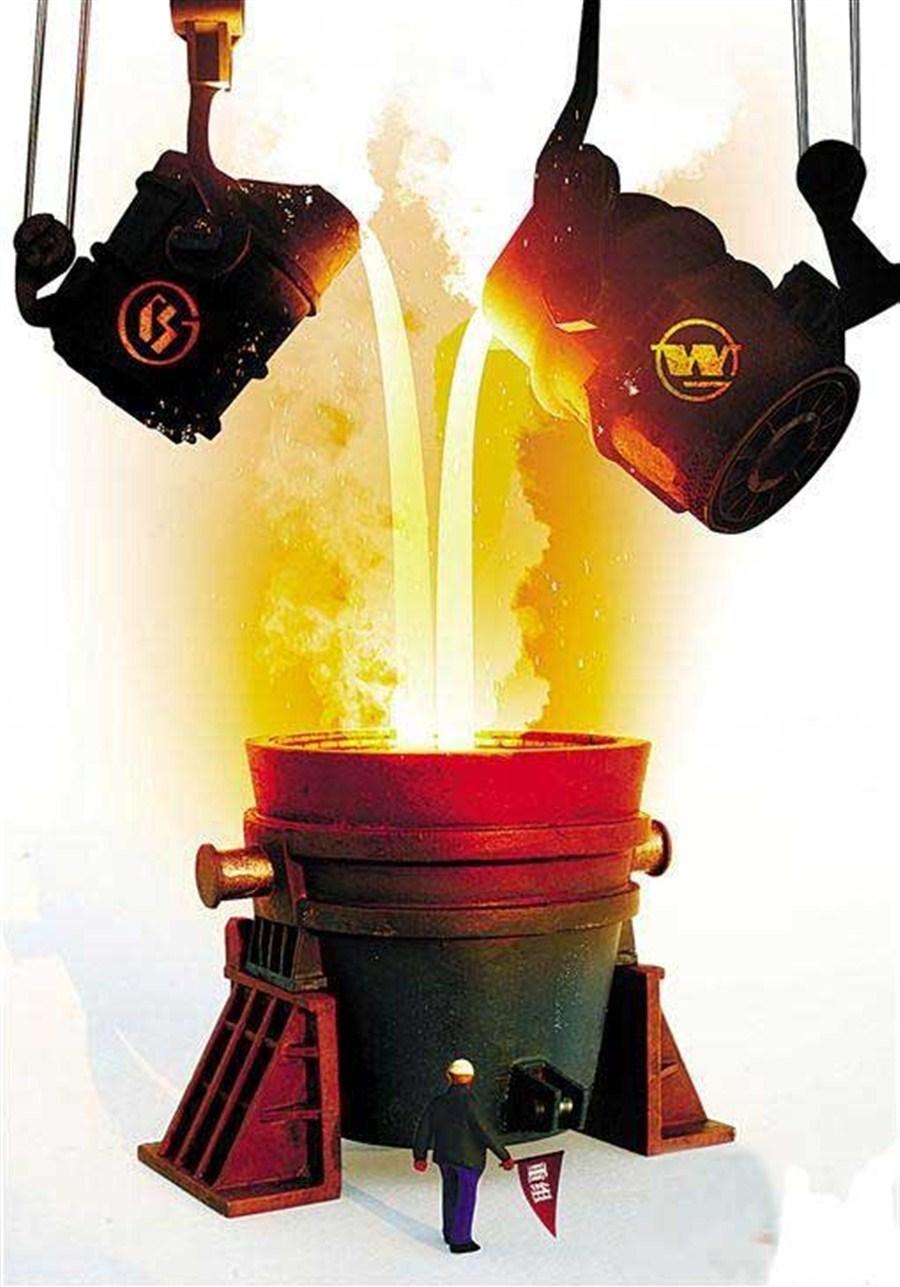 Baoshan, Wuhan Steel merger to create 2nd-largest manufacturer