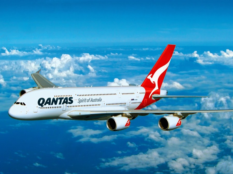 Australia Qantas new app to help save millions in fuel