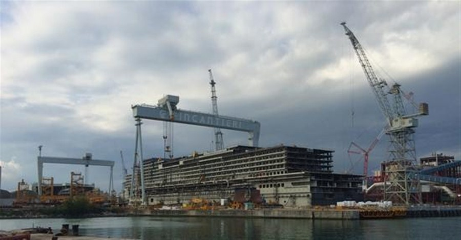 All hands for 1st home-built cruise ship