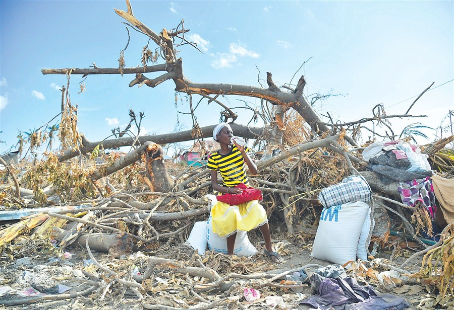 Supplies get to stricken Haiti