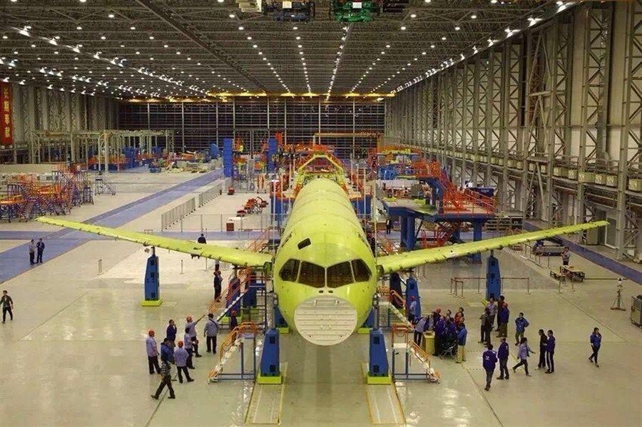 Plant to build C919 systems launched