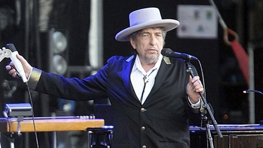 Dylan silent on Nobel literature award