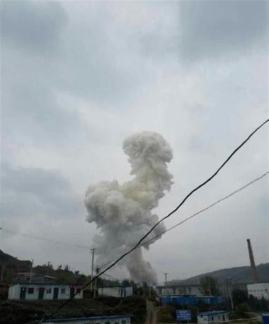 China prefab house explosion kills 14, wounds 147