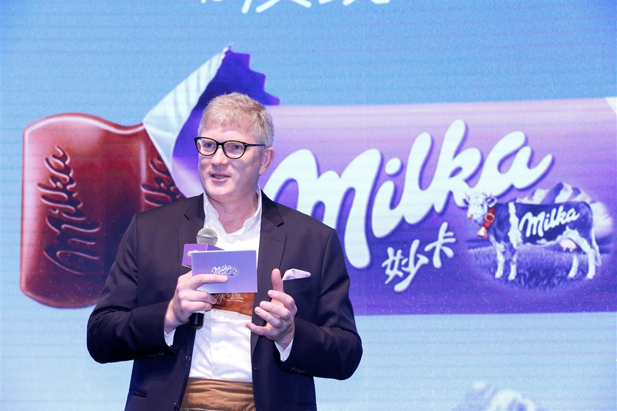 Milka, the new face of chocolate in China