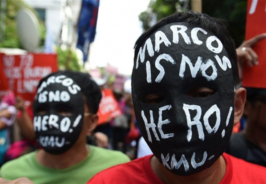 Court rules Marcos can be given hero's burial