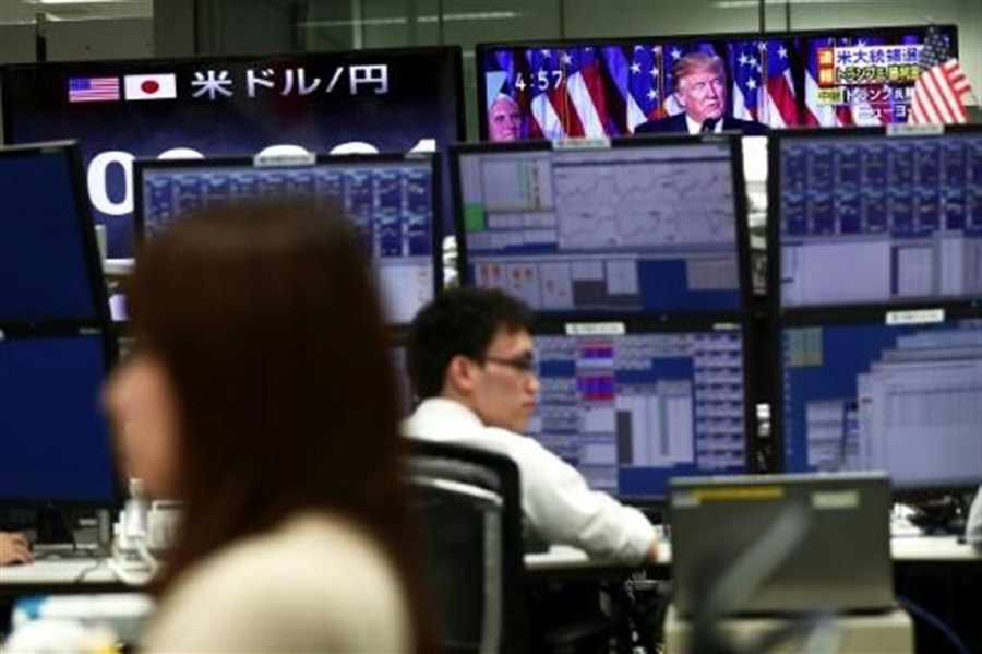 Hopes push Wall Street to record high