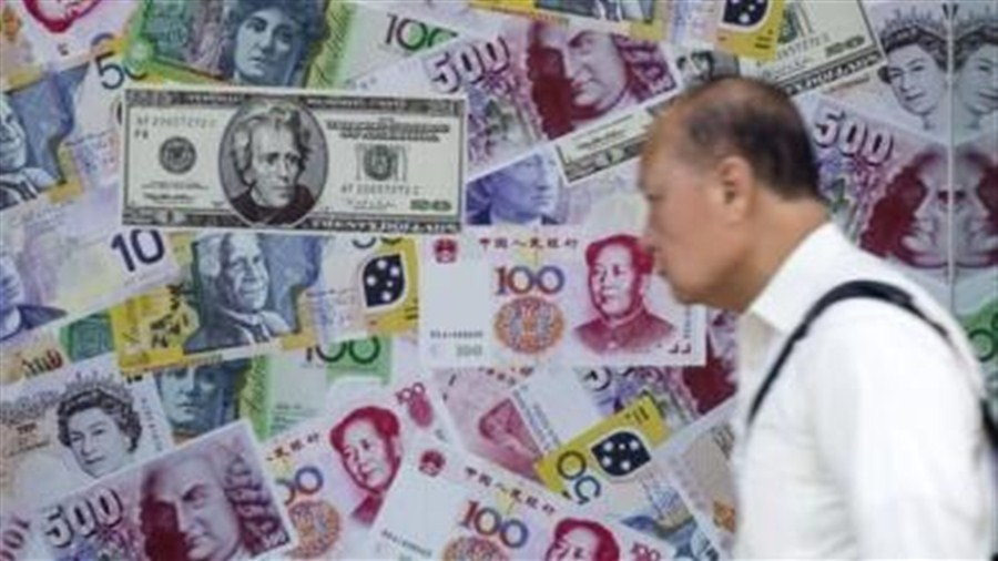 Forex turnover falls