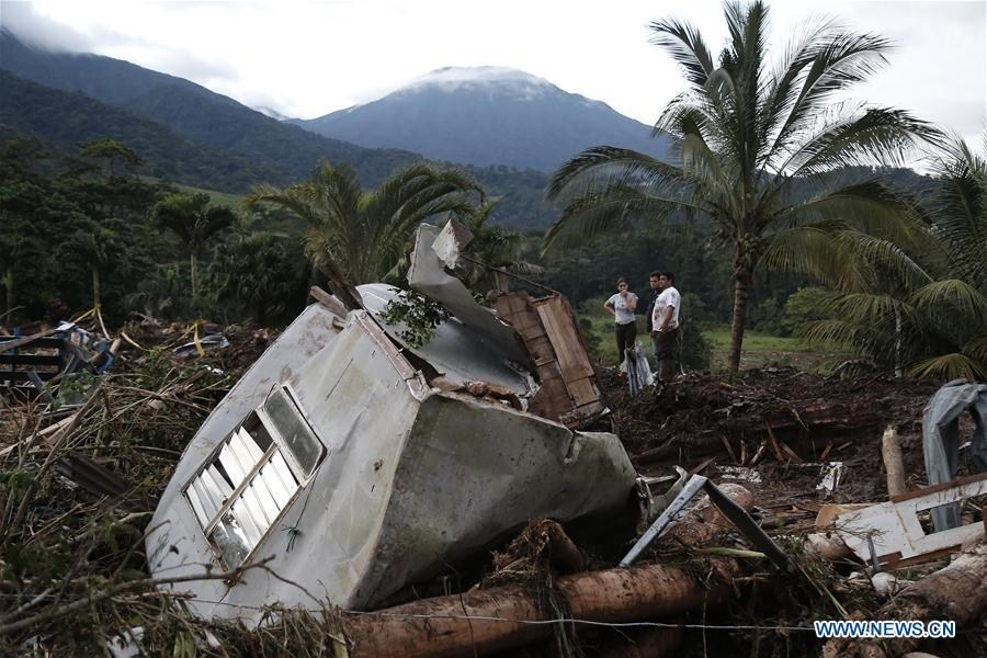 Hurricane Otto kills at least 9 people in northern Costa Rica