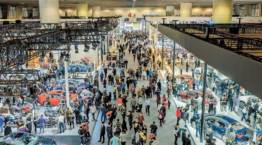 SUVs hog the spotlight at Guangzhou Auto Show