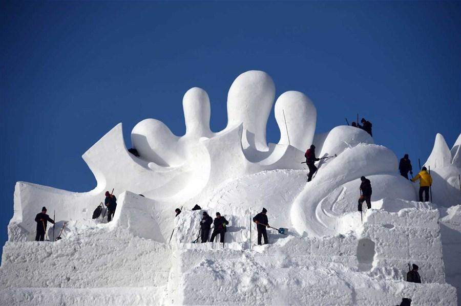 Art of the big freeze