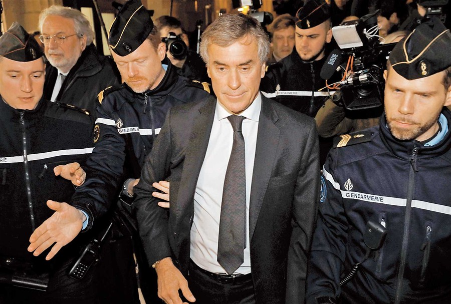 Ex-French minister jailed for tax fraud