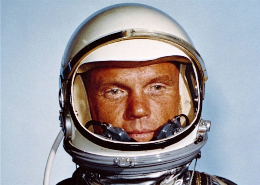 US space icon John Glenn dies at age 95