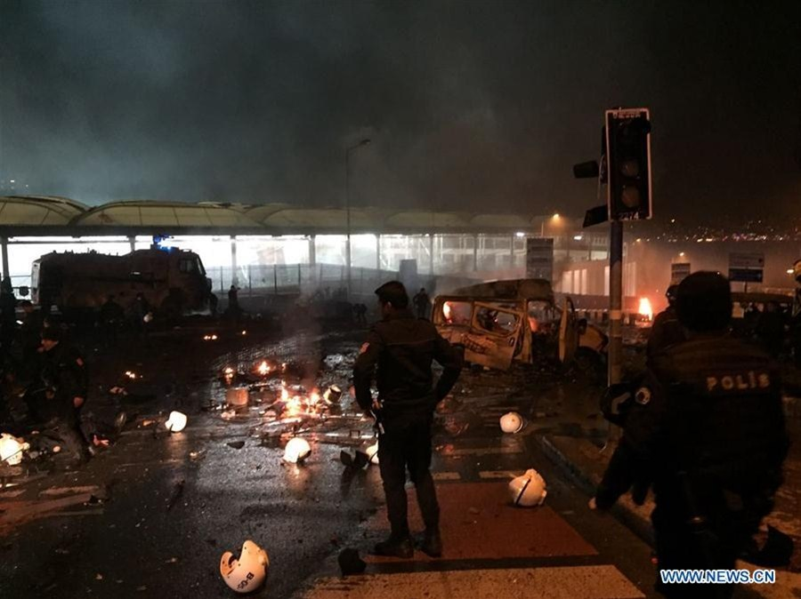 29 dead, 166 wounded in Istanbul bombings: interior minister