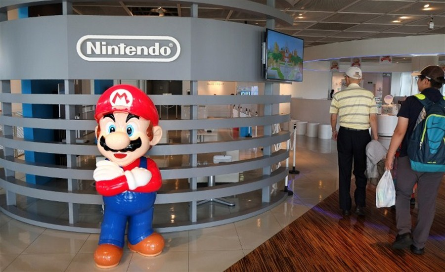 Nintendo shares drop after game release
