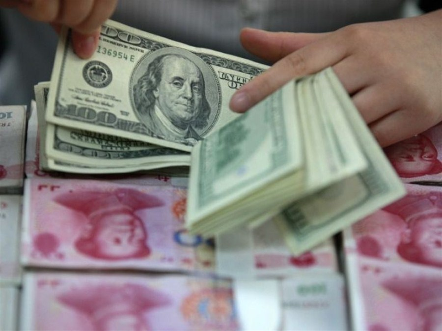 Yuan's rise knocks the wind out of US dollar