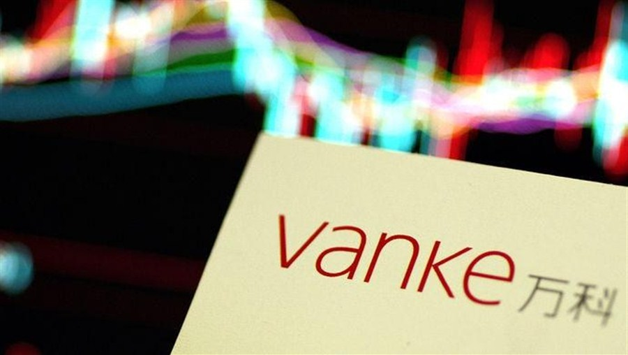 Vanke's share surges after the brawl comes to an end