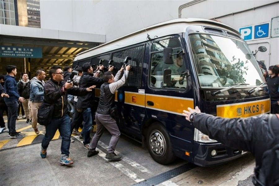 HK officers guilty of beating up protester