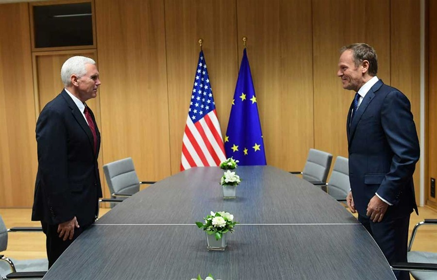 Trump's deputy reassures Europe over trade, security and Russia