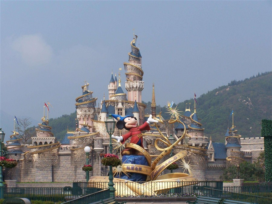 HK Disneyland suffers loss for 2nd year