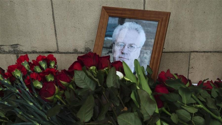 UN diplomats mourn Russia's Churkin