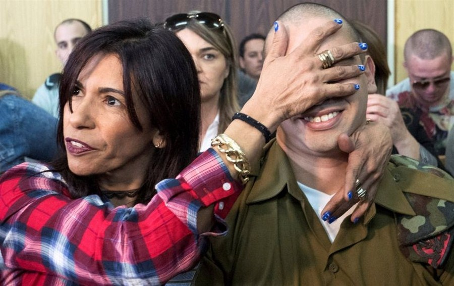 Palestinian outrage as soldier gets off lightly