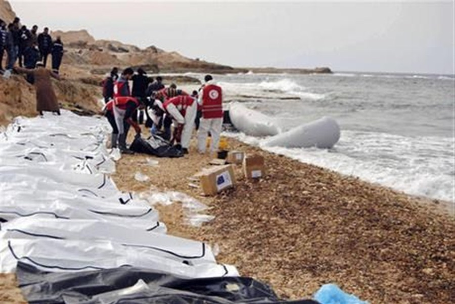 74 bodies washed ashore in Libya