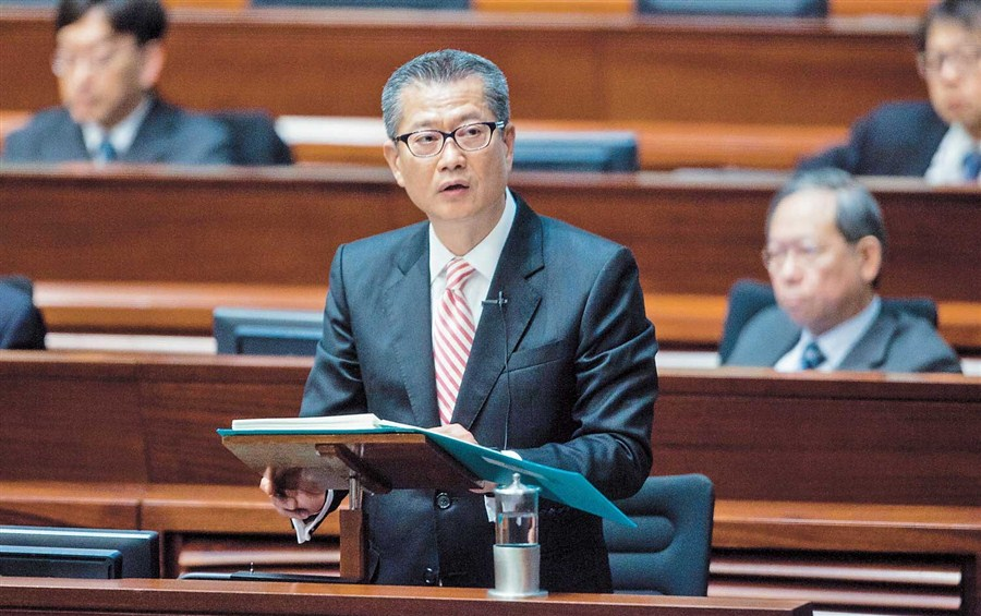 HK delivers generous budget, sees better 2017