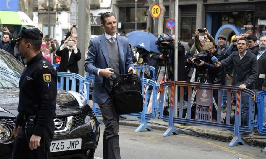 Spain king's brother-in-law avoids jail
