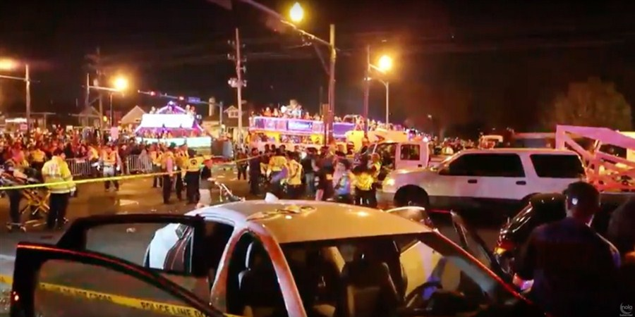 DWI likely in New Orleans truck crash