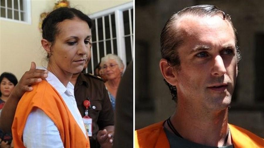 Australian, Briton jailed in Bali cop's death