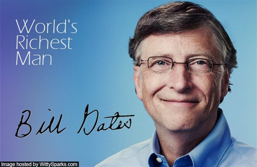 Bill Gates tops again as world's richest