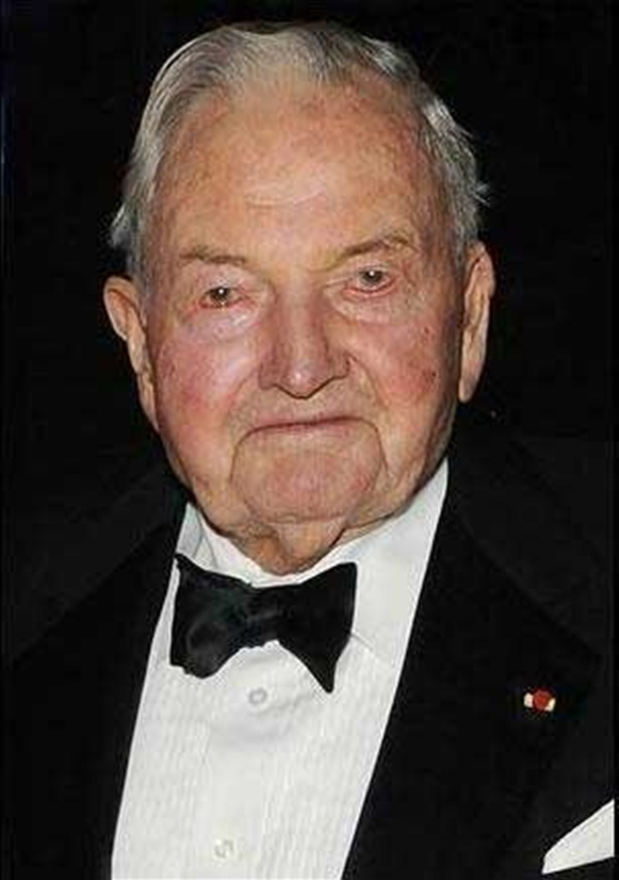 Billionaire David Rockefeller dies at age 101