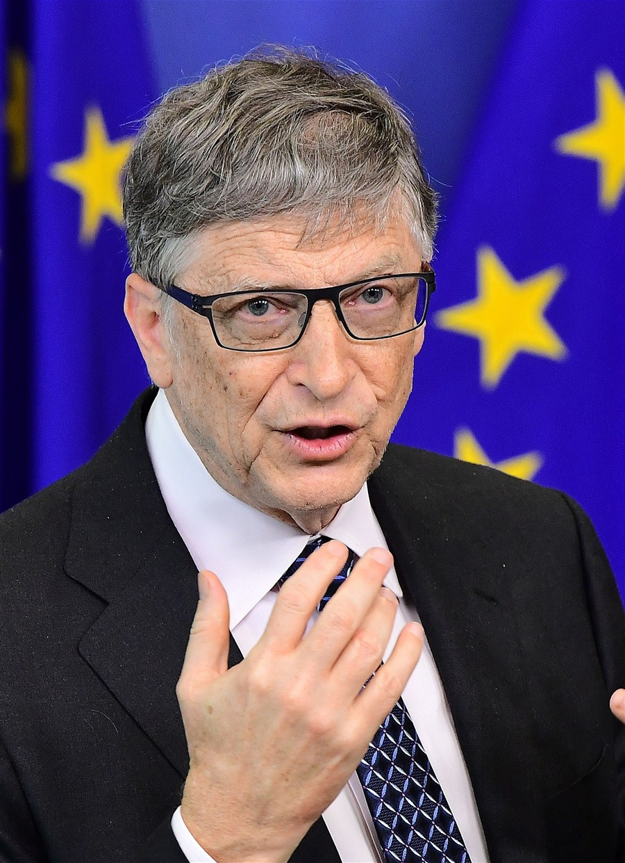 Bill Gates again world's richest man; Trump slips