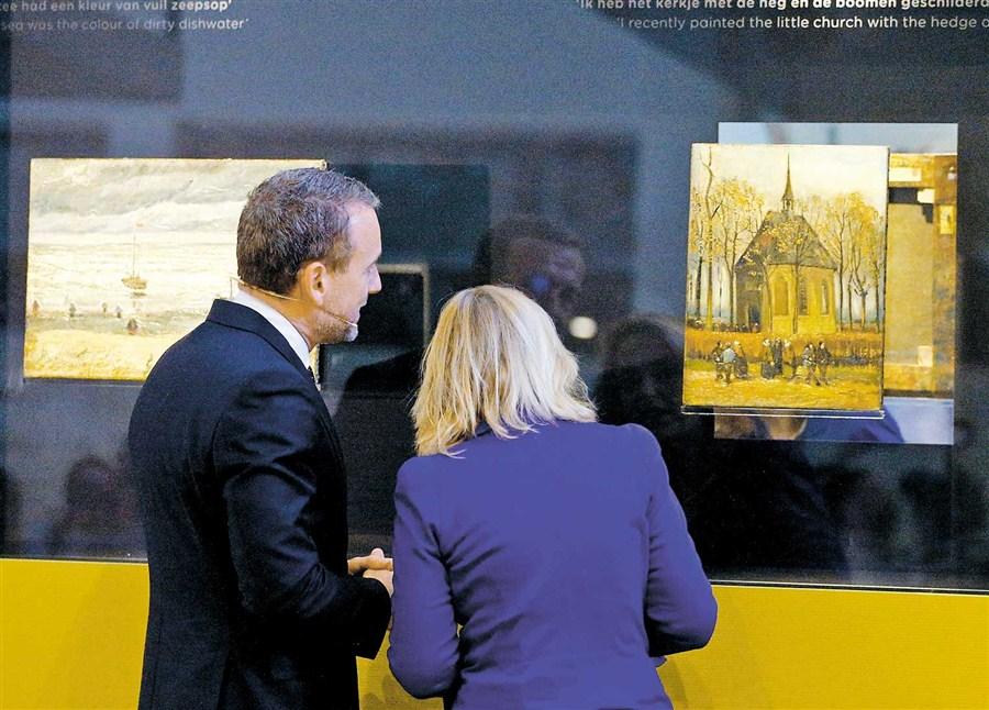 Van Gogh masterpieces back home